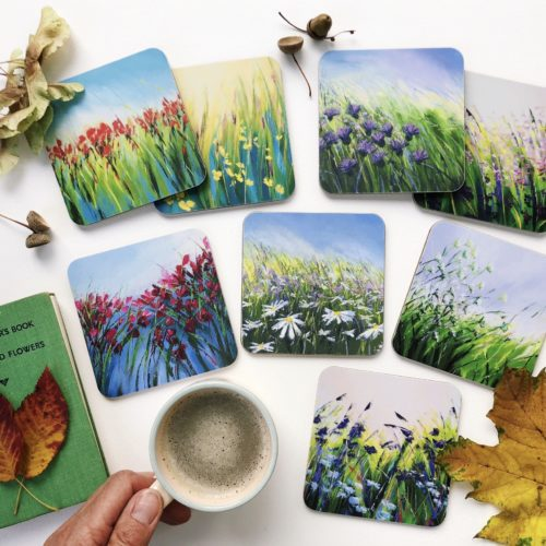 Sue Rapley Artist The Gift Collection Coasters