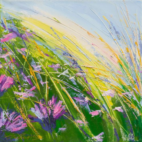 Sue Rapley Artist A Summer's Dance II The Twenty20 Collection