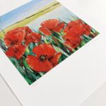 Sue Rapley Artist The Gift Collection Poppies I print